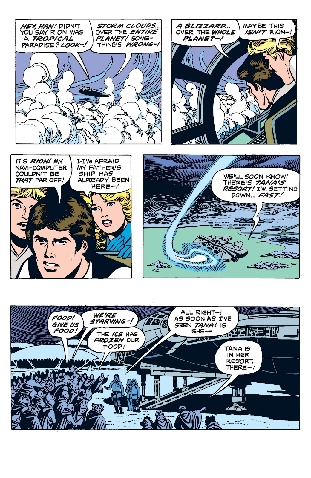 Read online Star Wars Legends: The Newspaper Strips - Epic Collection comic -  Issue # TPB (Part 2) - 84