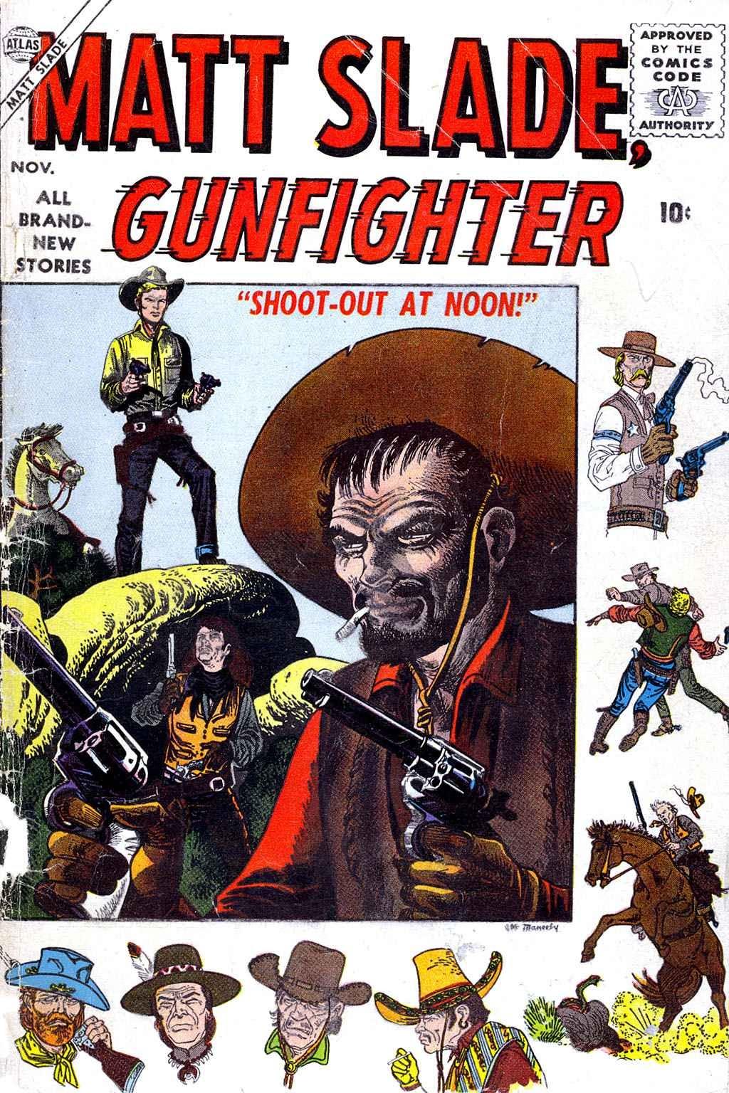 Matt Slade, Gunfighter 4 Page 1