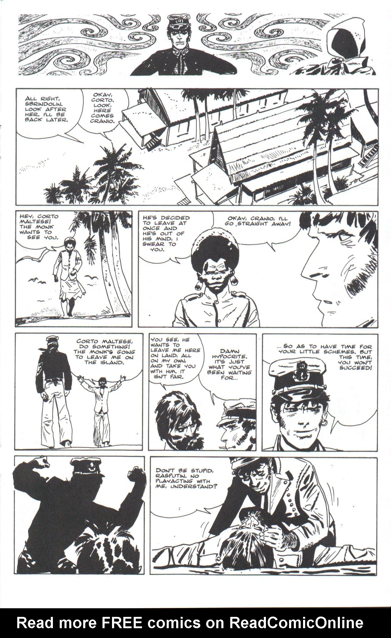 Read online Corto Maltese: Ballad of the Salt Sea comic -  Issue #4 - 17
