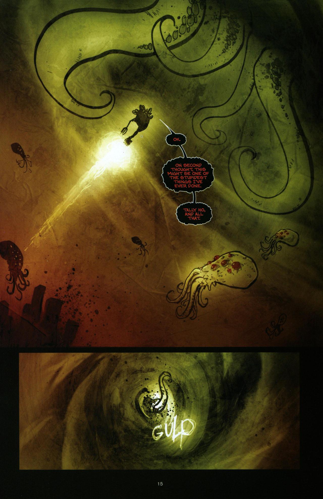 Read online Wormwood: Gentleman Corpse comic -  Issue #10 - 16