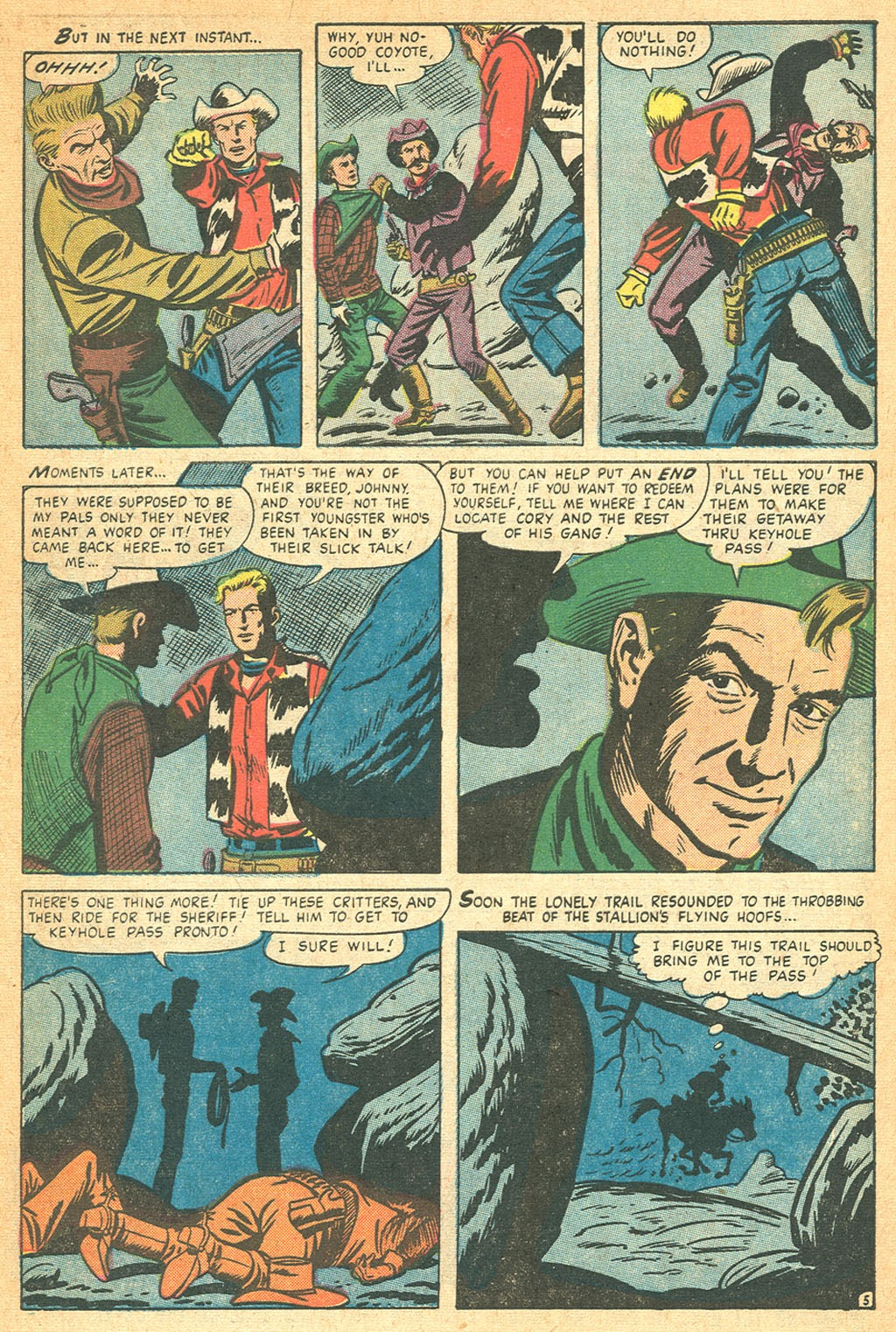 Kid Colt Outlaw issue 53 - Page 7