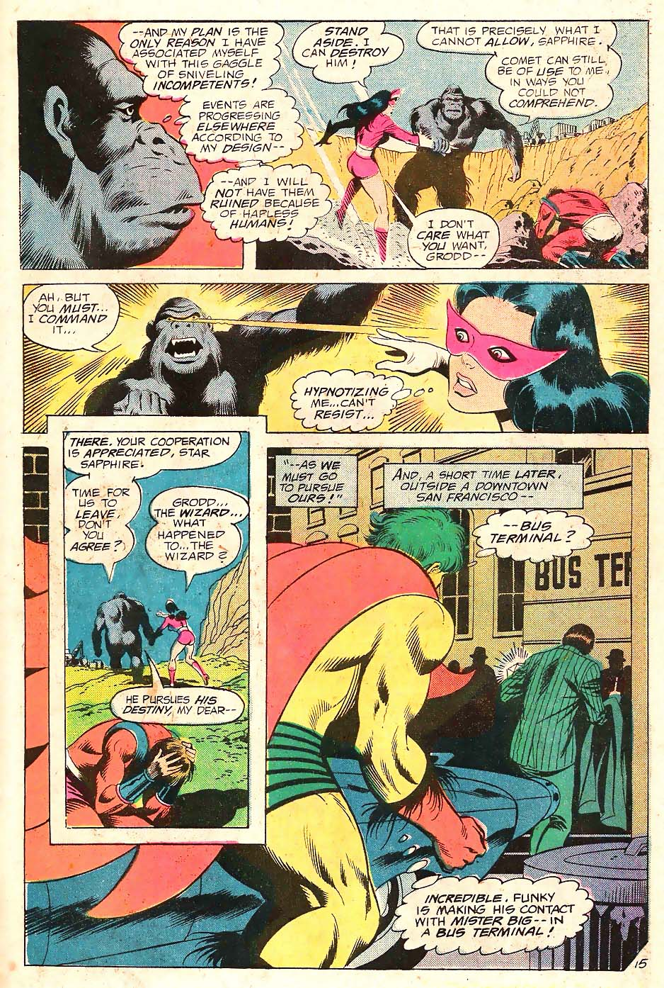 Read online Secret Society of Super-Villains comic -  Issue #10 - 16