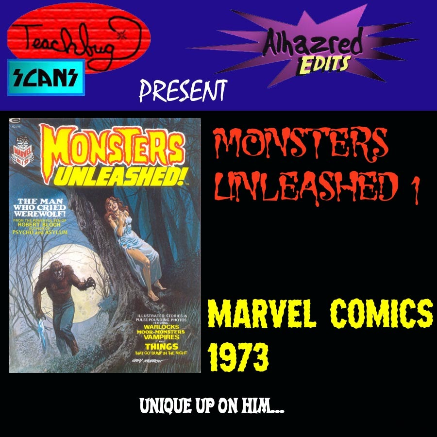 Monsters Unleashed (1973) issue 1 - Page 1