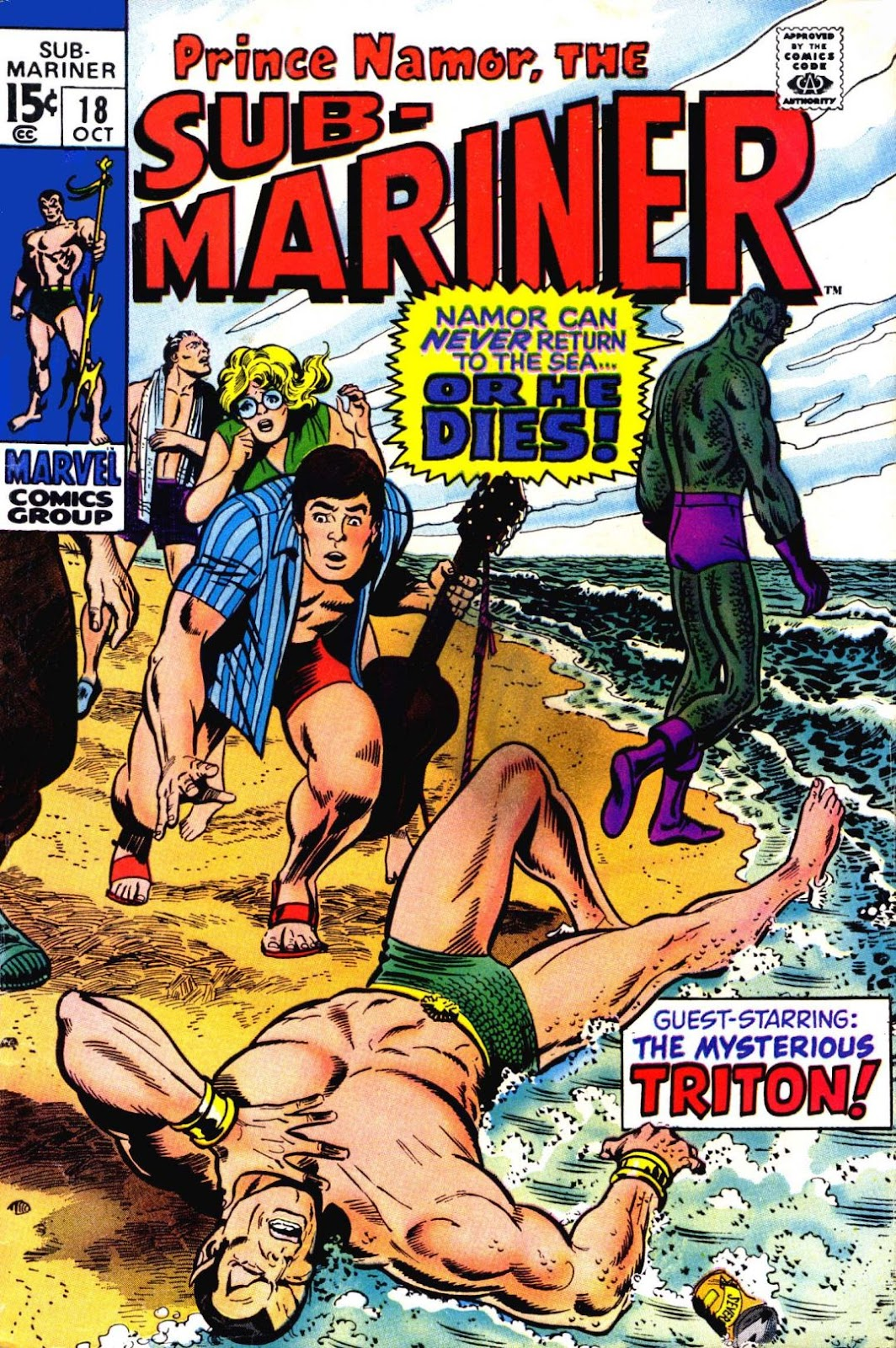 The Sub-Mariner 18 Page 1