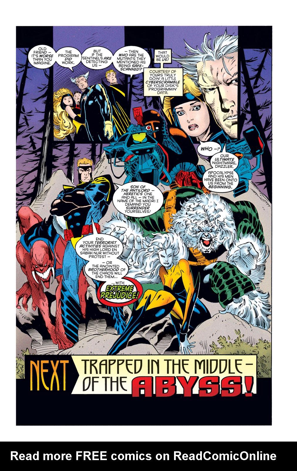 Amazing X-Men (1995) 1 Page 21