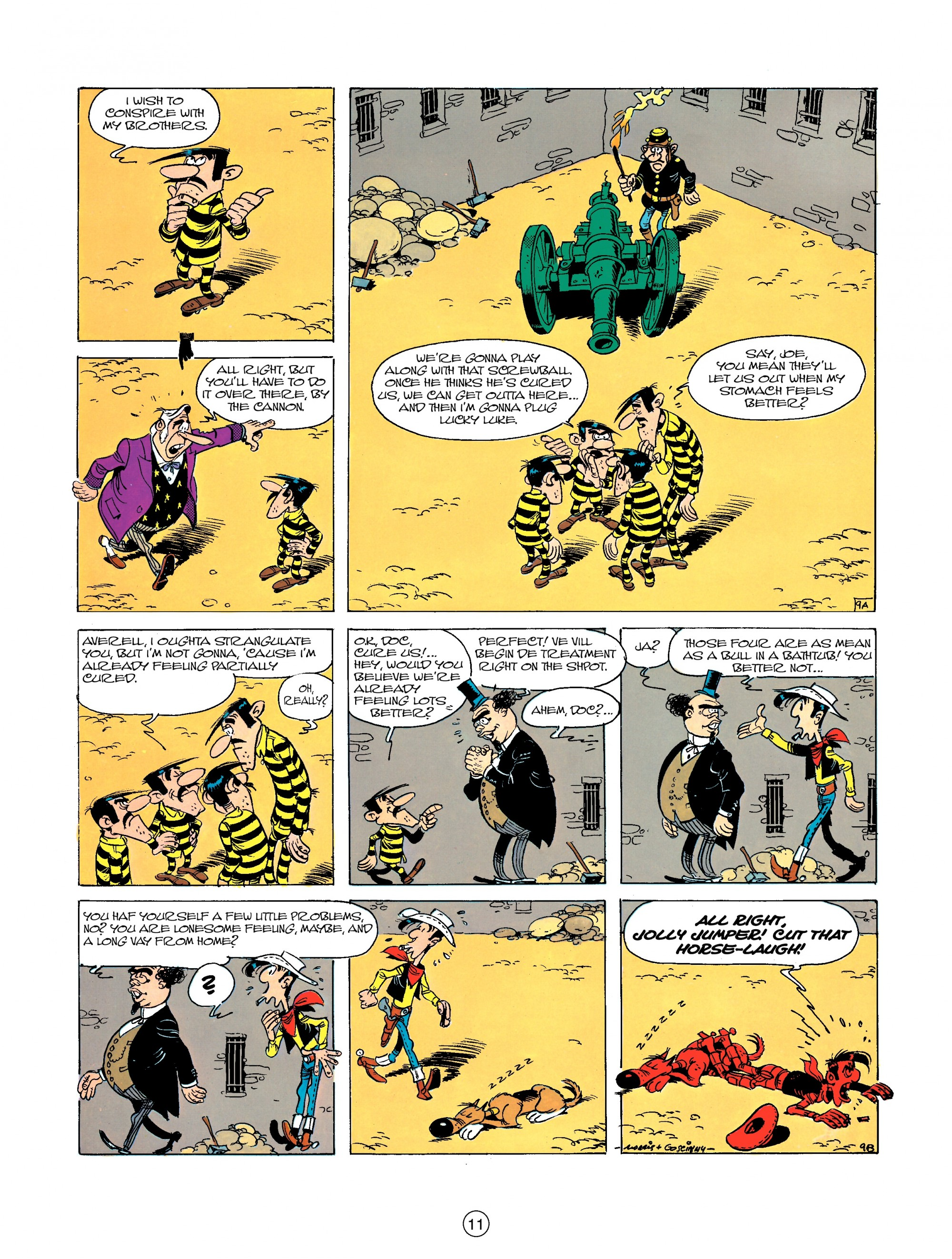 Read online A Lucky Luke Adventure comic -  Issue #23 - 11