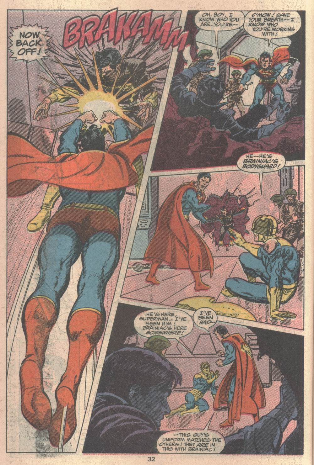 Read online Adventures of Superman (1987) comic -  Issue #Adventures of Superman (1987) _Annual 2 - 32