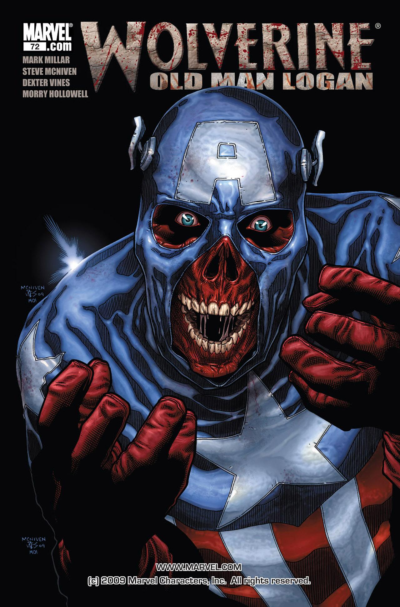 Read online Wolverine: Old Man Logan comic -  Issue # Full - 137
