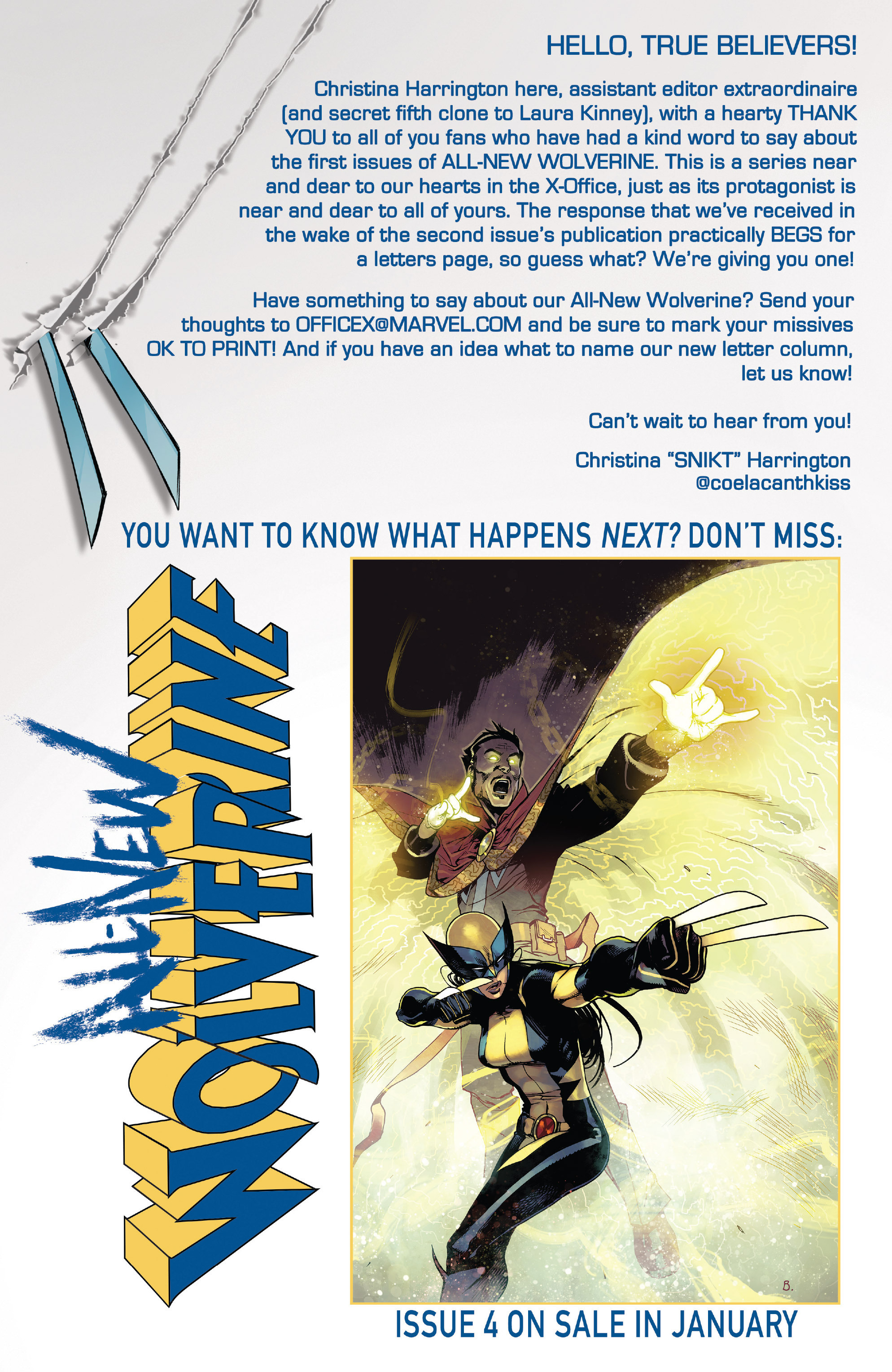 Read online All-New Wolverine (2016) comic -  Issue #3 - 22