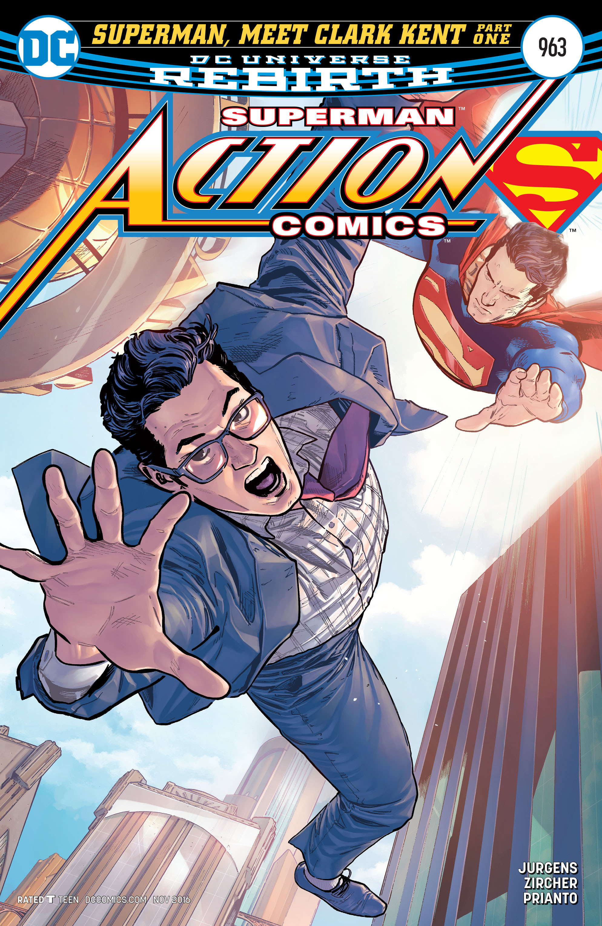 Read online Action Comics (2016) comic -  Issue #963 - 1
