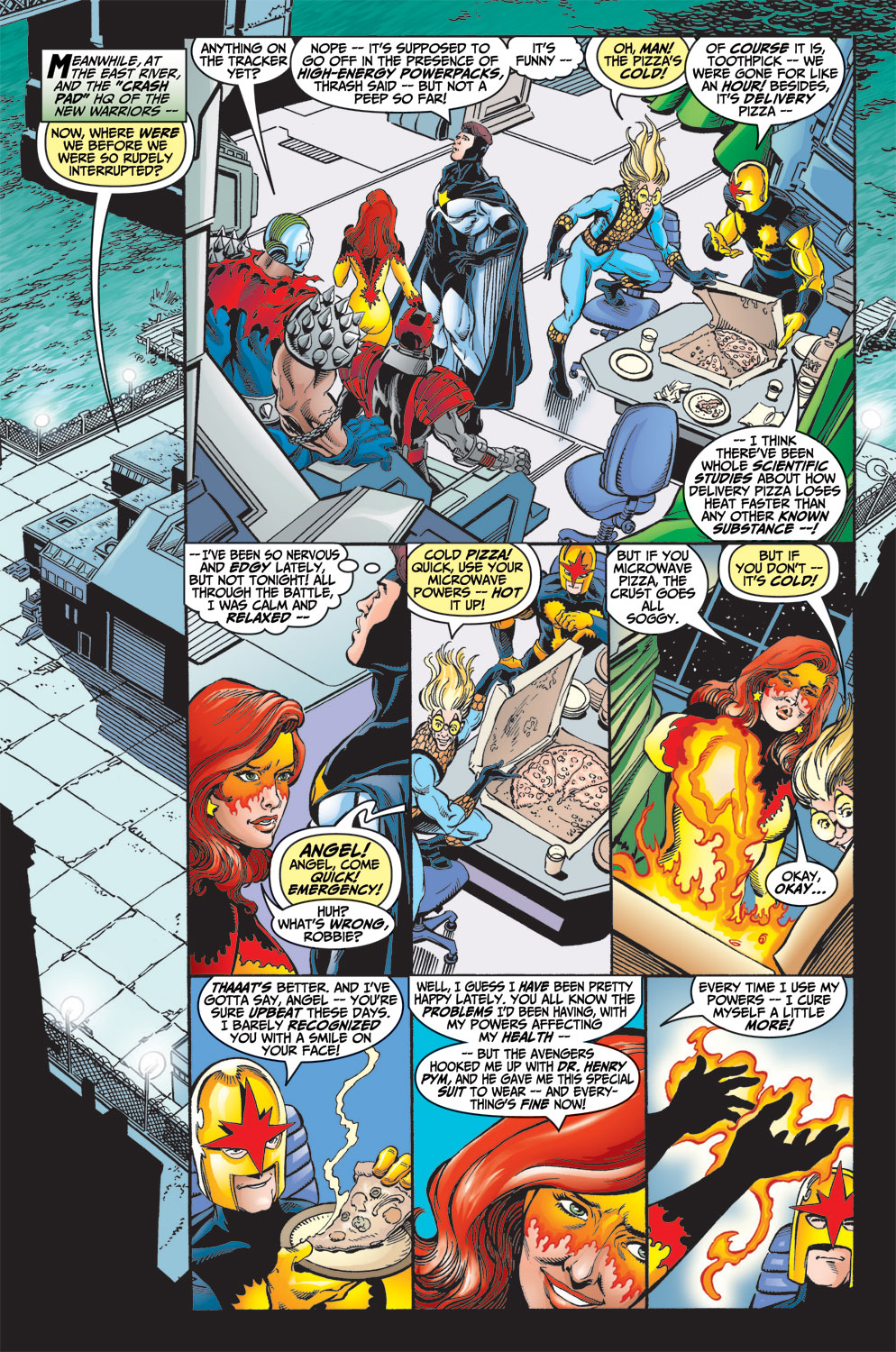 Read online Avengers (1998) comic -  Issue #13 - 6