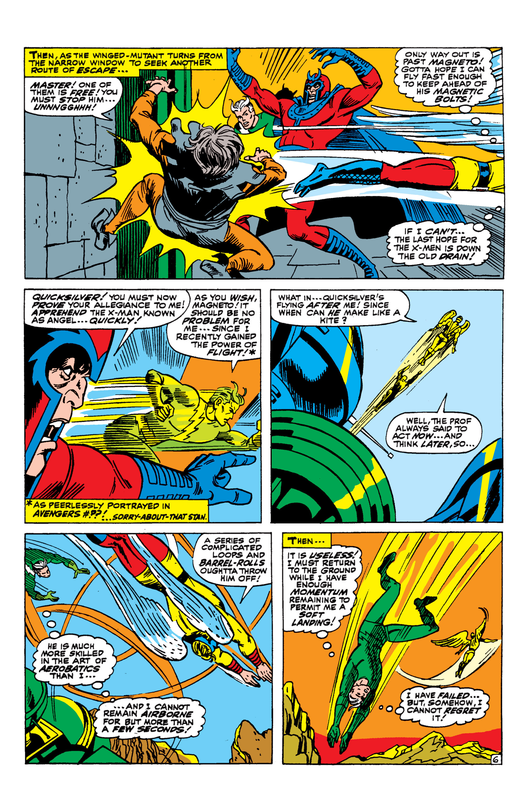 Read online Uncanny X-Men (1963) comic -  Issue #44 - 7