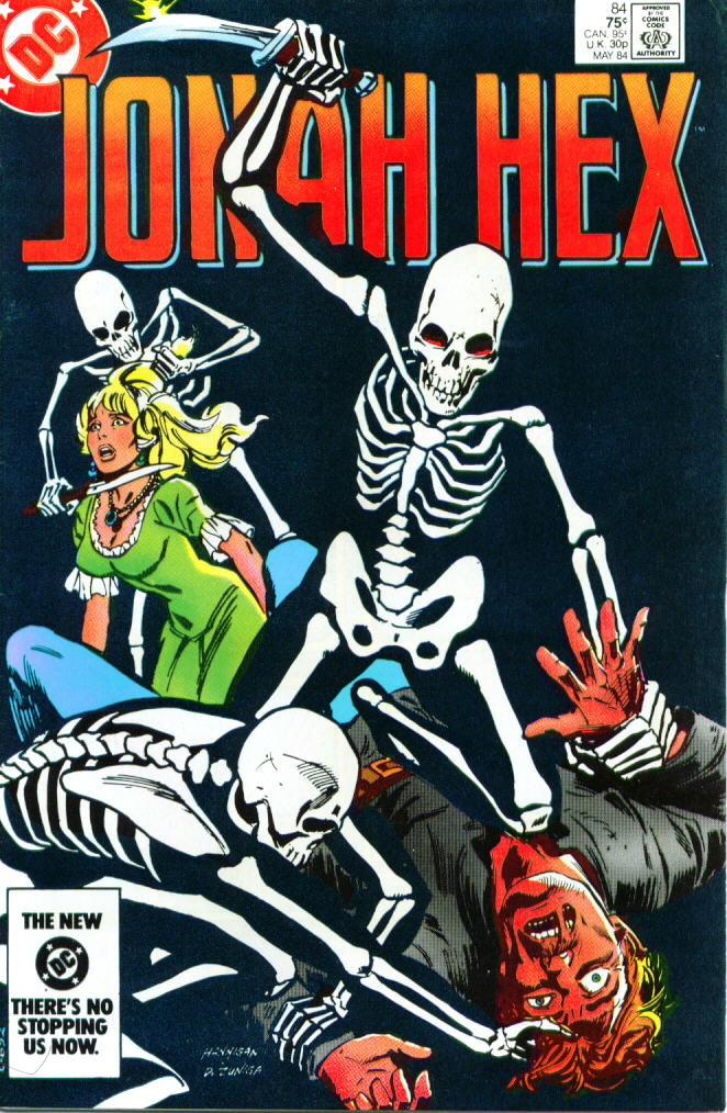 Jonah Hex (1977) 84 Page 1