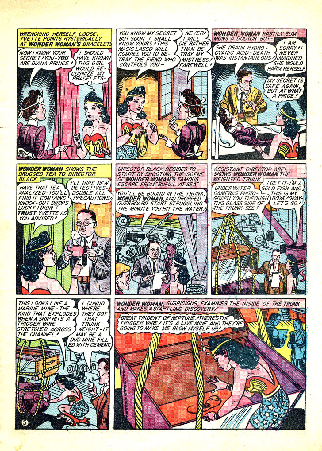Read online Sensation (Mystery) Comics comic -  Issue #12 - 7