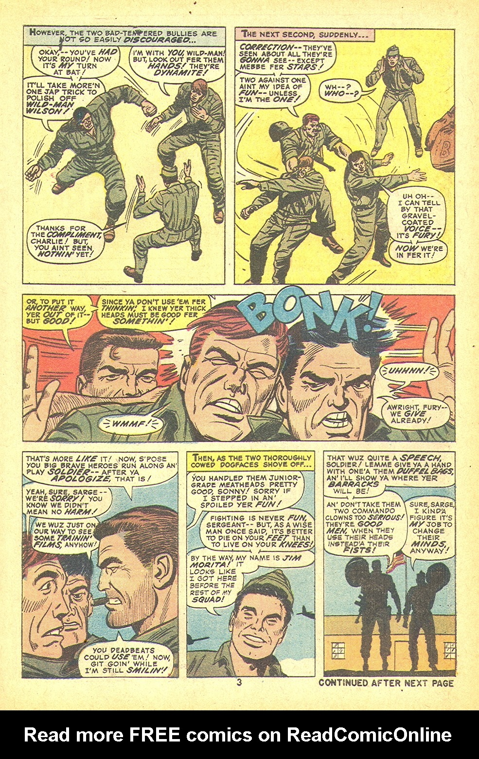 Read online Sgt. Fury comic -  Issue #109 - 5