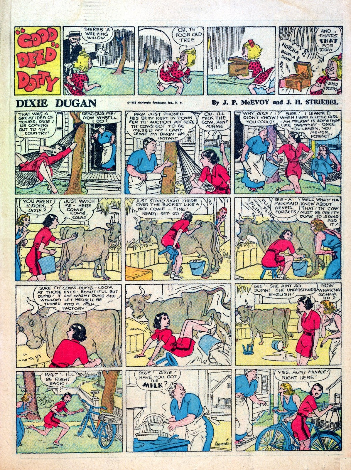 Read online Famous Funnies comic -  Issue #8 - 35