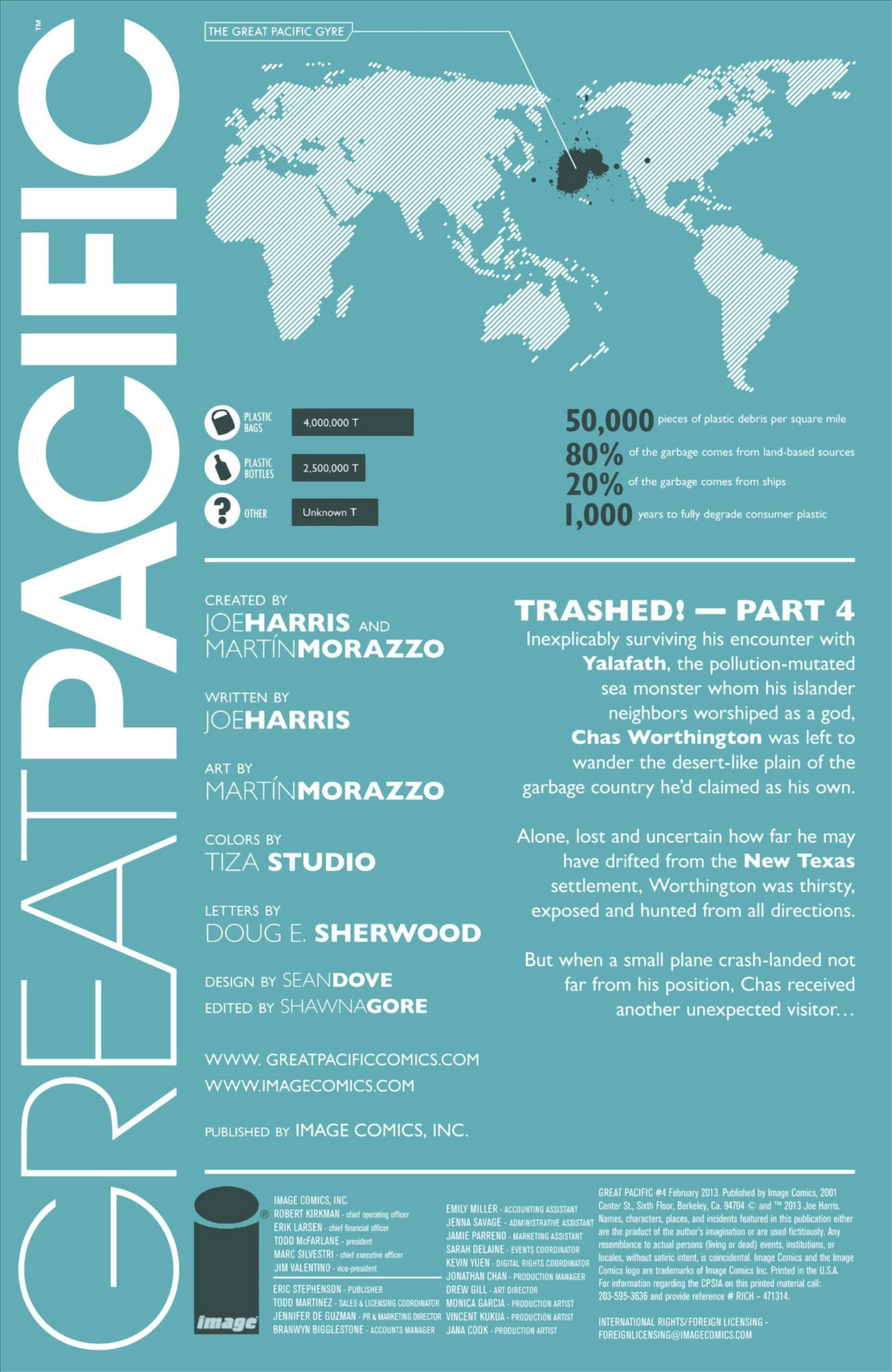 Read online Great Pacific comic -  Issue #4 - 2
