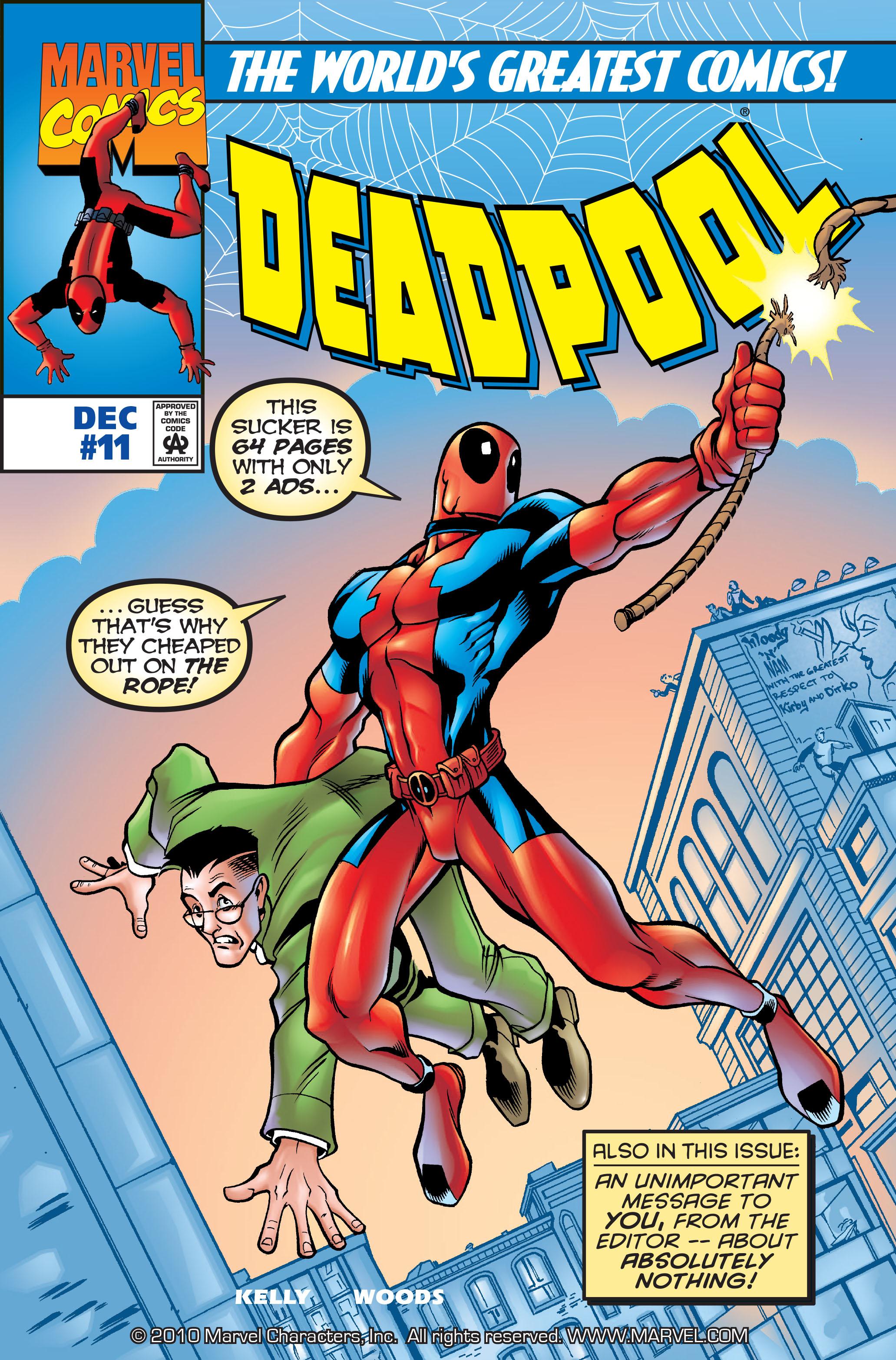 Deadpool (1997) 11 Page 1