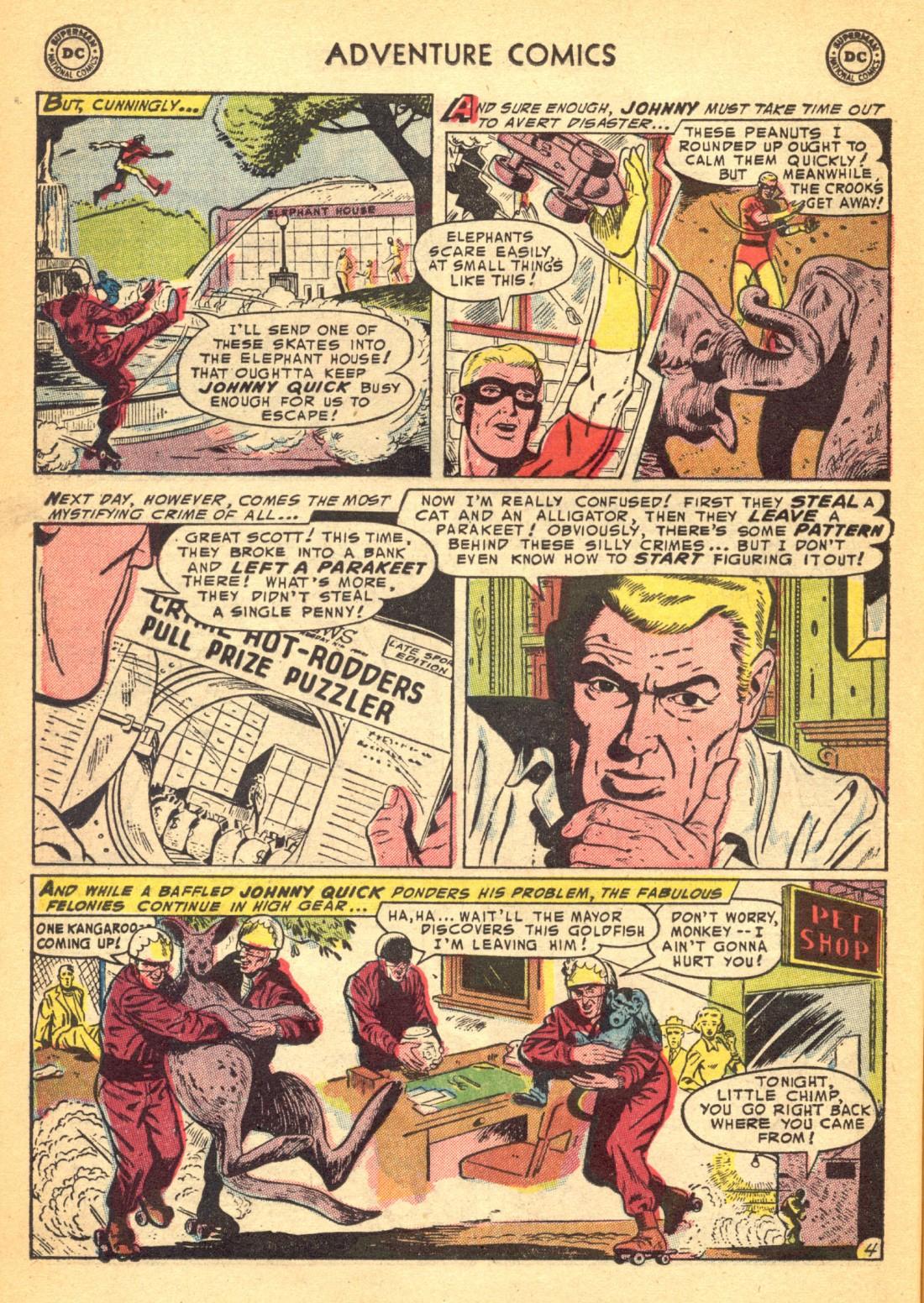 Read online Adventure Comics (1938) comic -  Issue #202 - 20