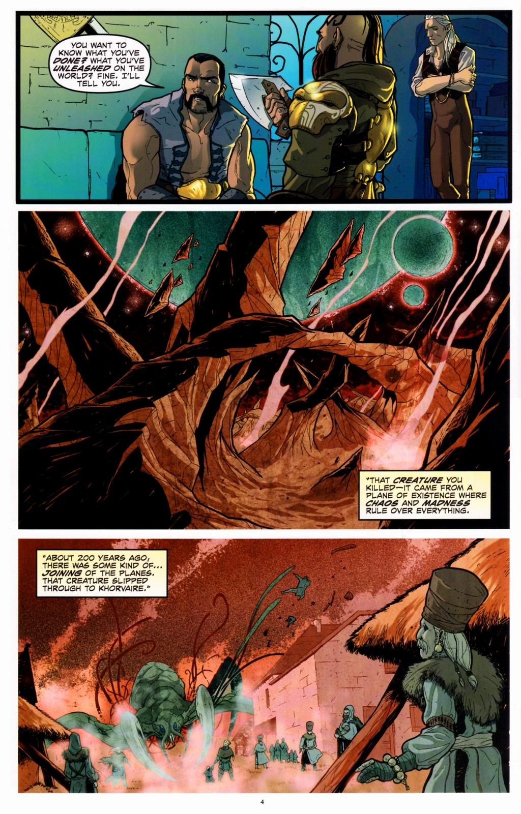 Read online Infestation 2: Dungeons & Dragons comic -  Issue #2 - 6
