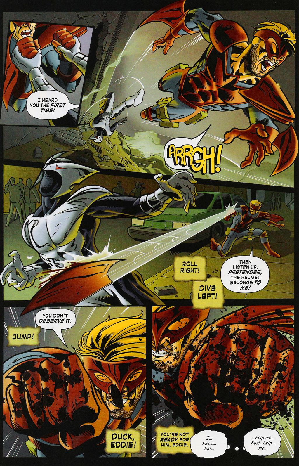 Read online ShadowHawk (2005) comic -  Issue #4 - 9