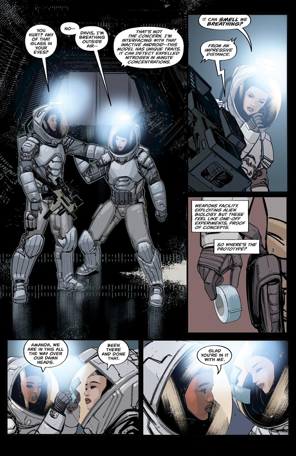 Read online Aliens: Resistance comic -  Issue #2 - 13