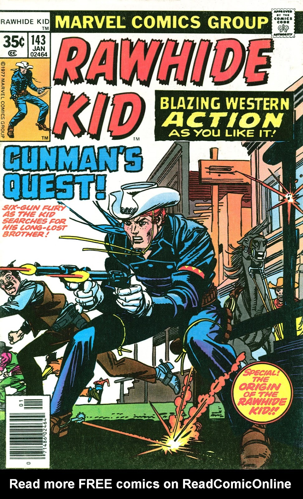 The Rawhide Kid (1955) issue 143 - Page 1