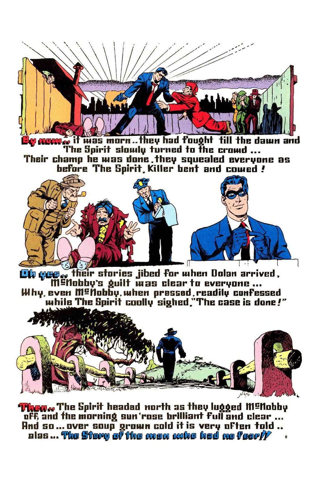 Read online Will Eisner's The Spirit Archives comic -  Issue # TPB 2 (Part 2) - 76