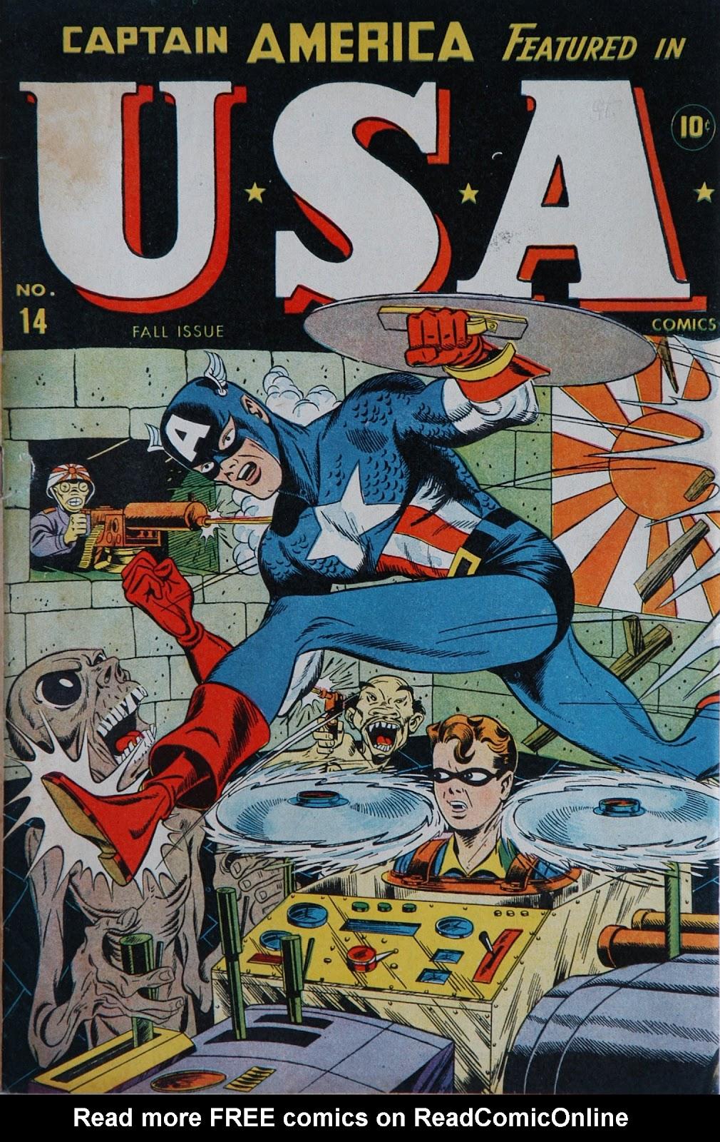 USA Comics 14 Page 1