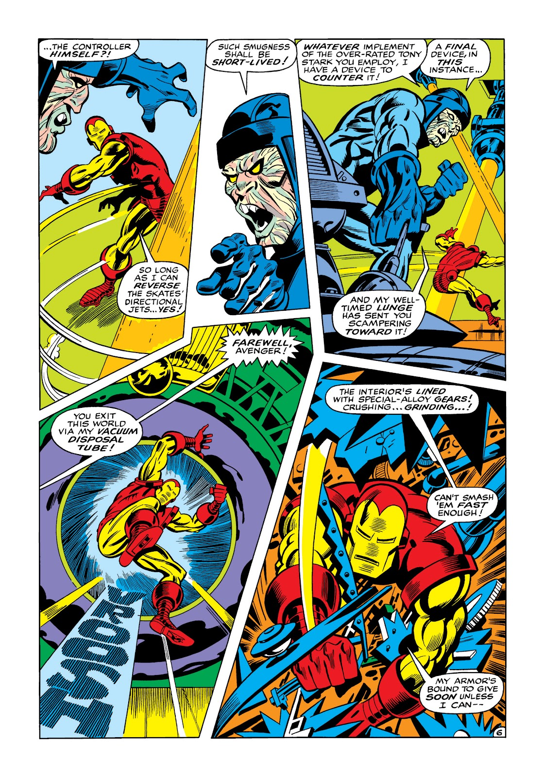 Read online Marvel Masterworks: The Invincible Iron Man comic -  Issue # TPB 5 (Part 3) - 44
