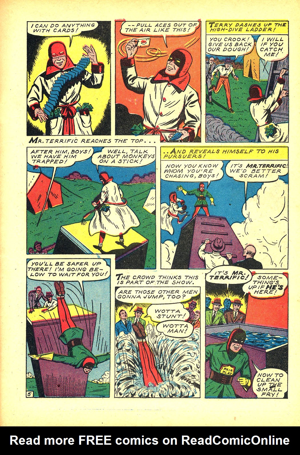 Read online Sensation (Mystery) Comics comic -  Issue #8 - 29