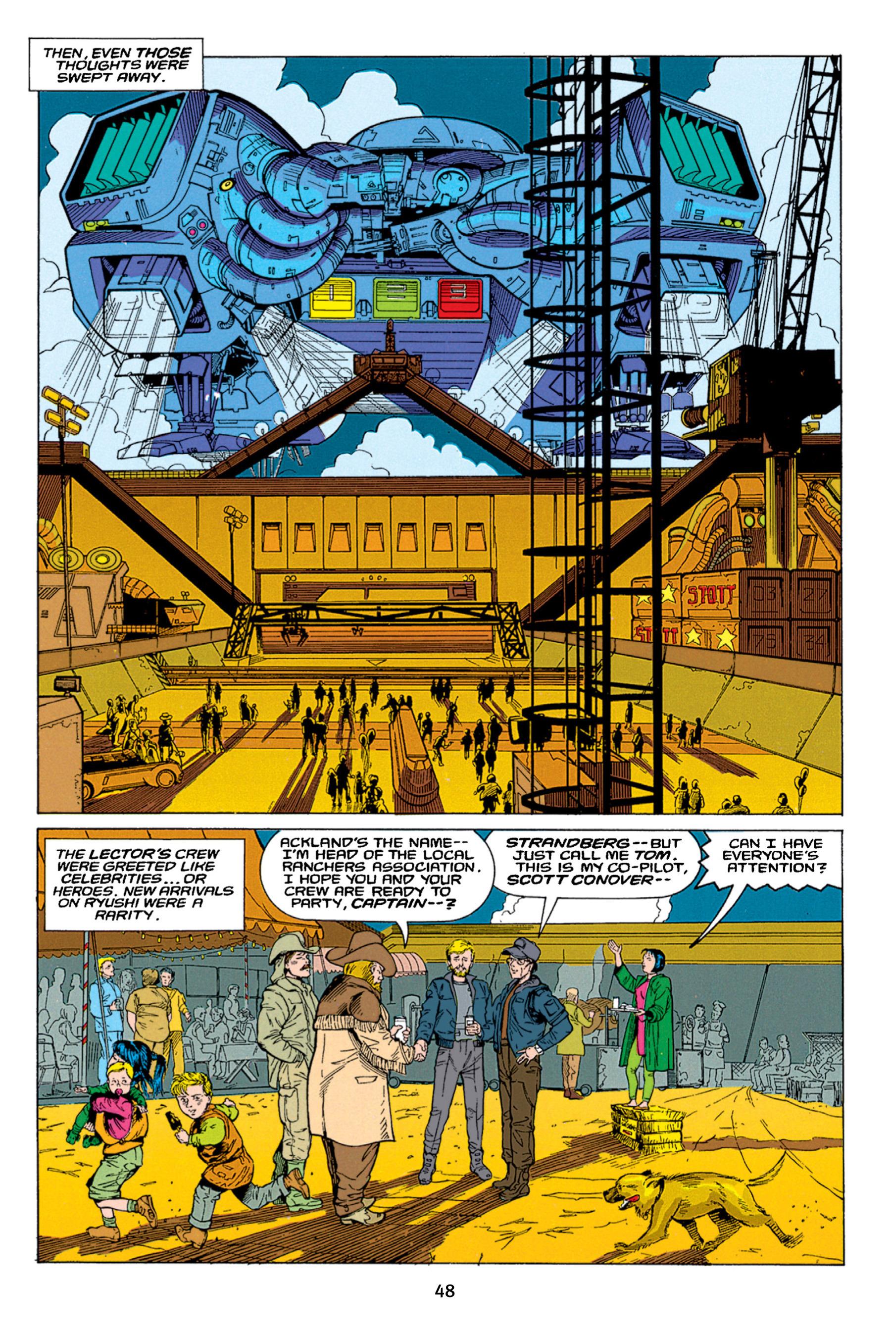 Read online Aliens vs. Predator Omnibus comic -  Issue # _TPB 1 Part 1 - 48