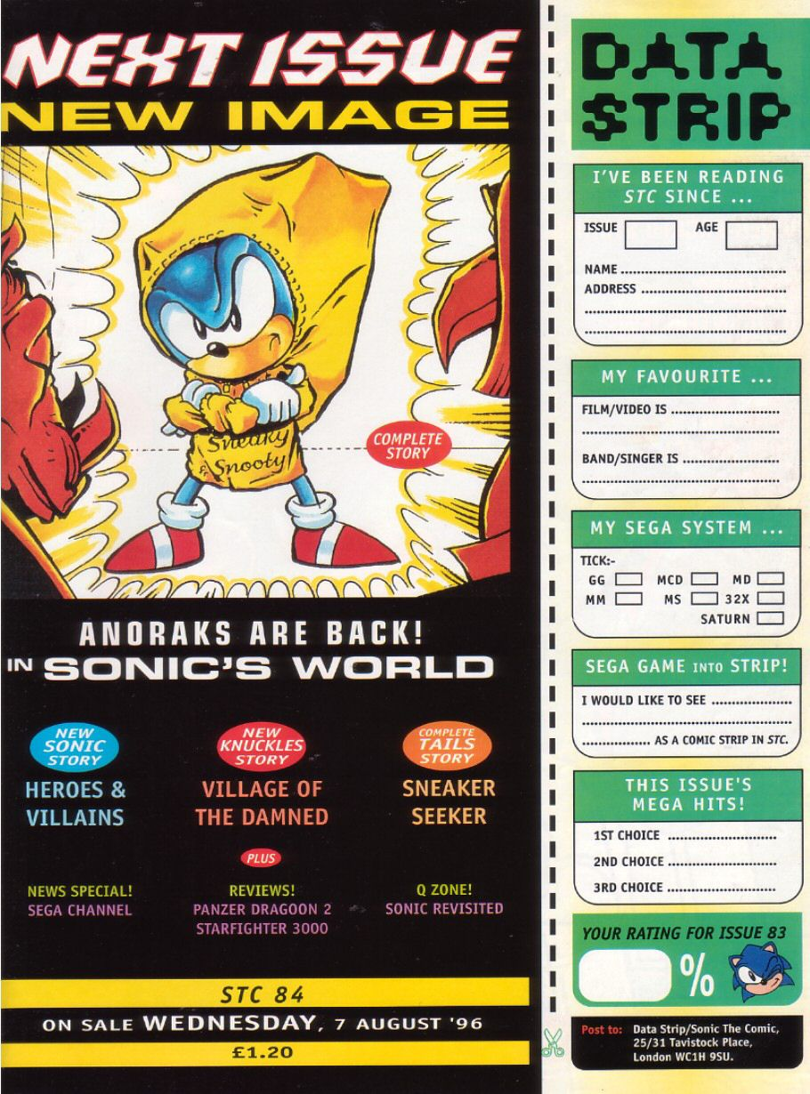 Read online Sonic the Comic comic -  Issue #83 - 32