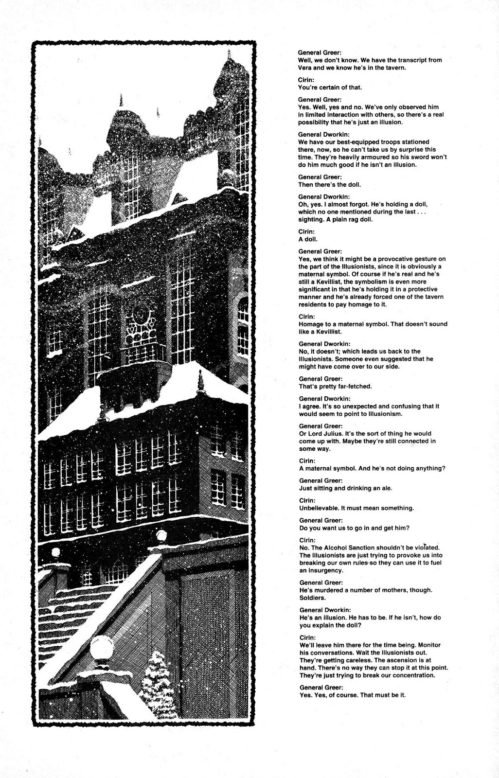 Cerebus Issue #165 #164 - English 11