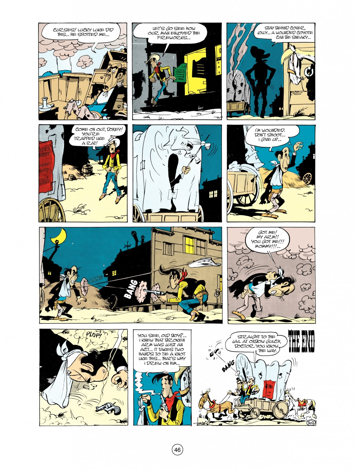 Read online A Lucky Luke Adventure comic -  Issue #38 - 46