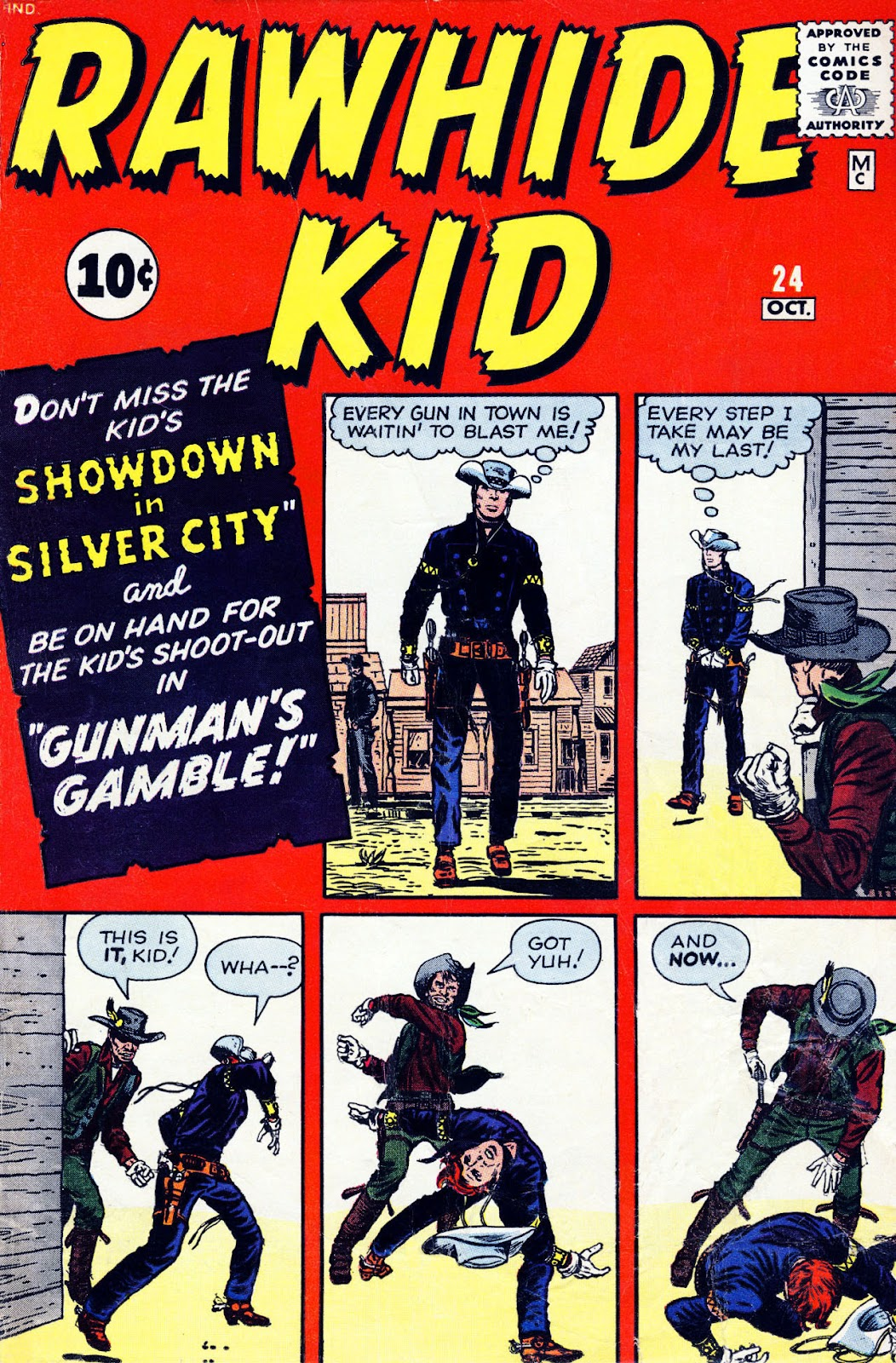 The Rawhide Kid (1955) issue 24 - Page 1