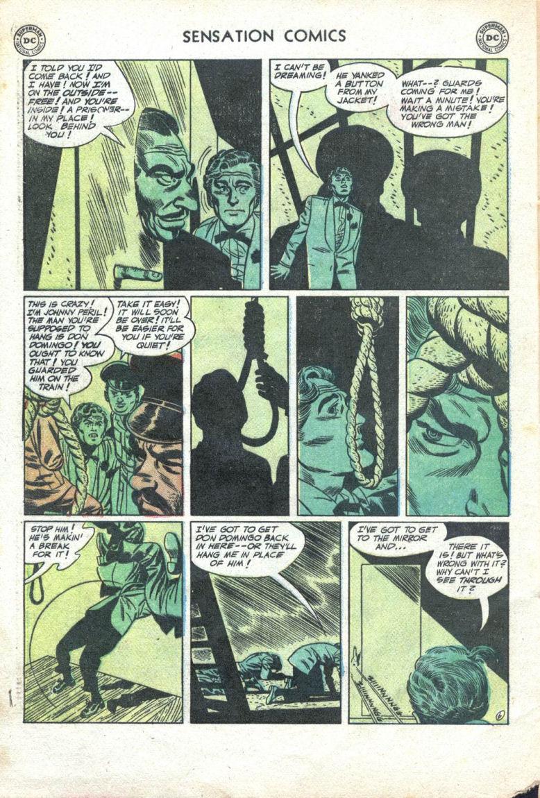 Read online Sensation (Mystery) Comics comic -  Issue #109 - 32