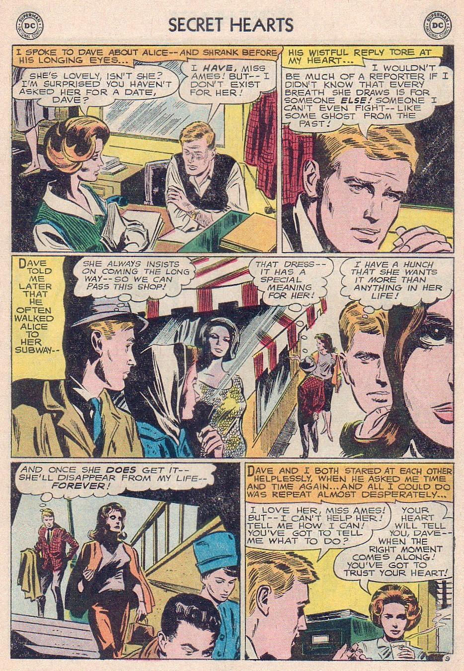 Read online Secret Hearts comic -  Issue #102 - 27