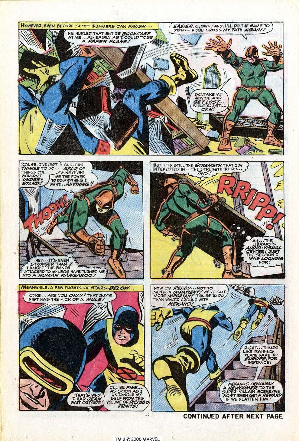 Uncanny X-Men (1963) 84 Page 23