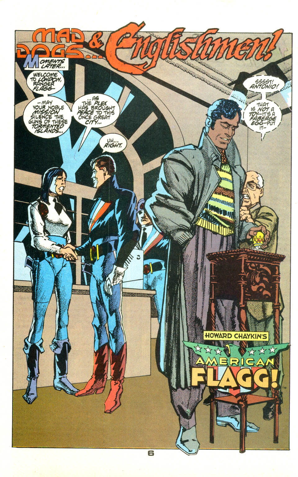 Read online American Flagg! comic -  Issue #23 - 7