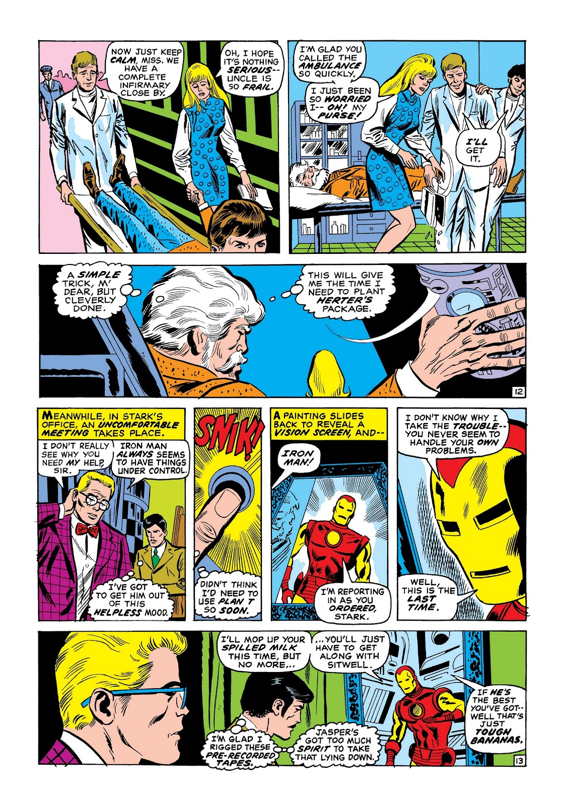 Read online Marvel Masterworks: The Invincible Iron Man comic -  Issue # TPB 7 (Part 2) - 61