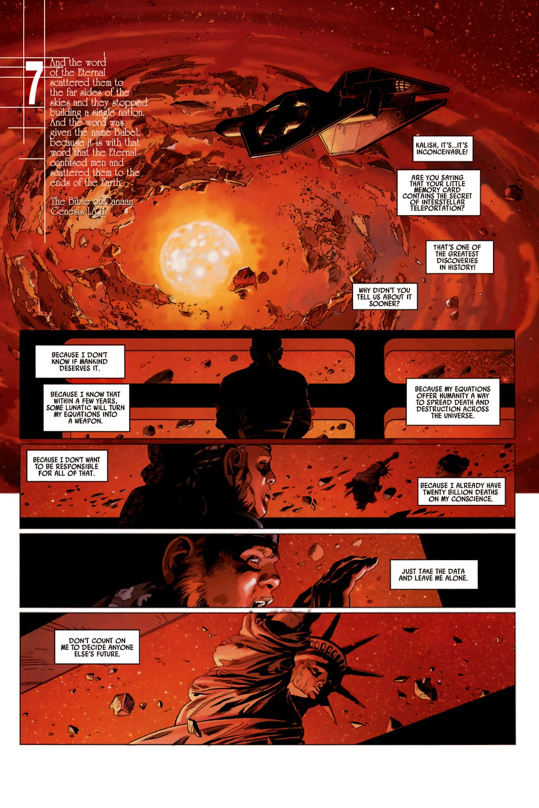 Read online Universal War One: Revelations comic -  Issue #2 - 45