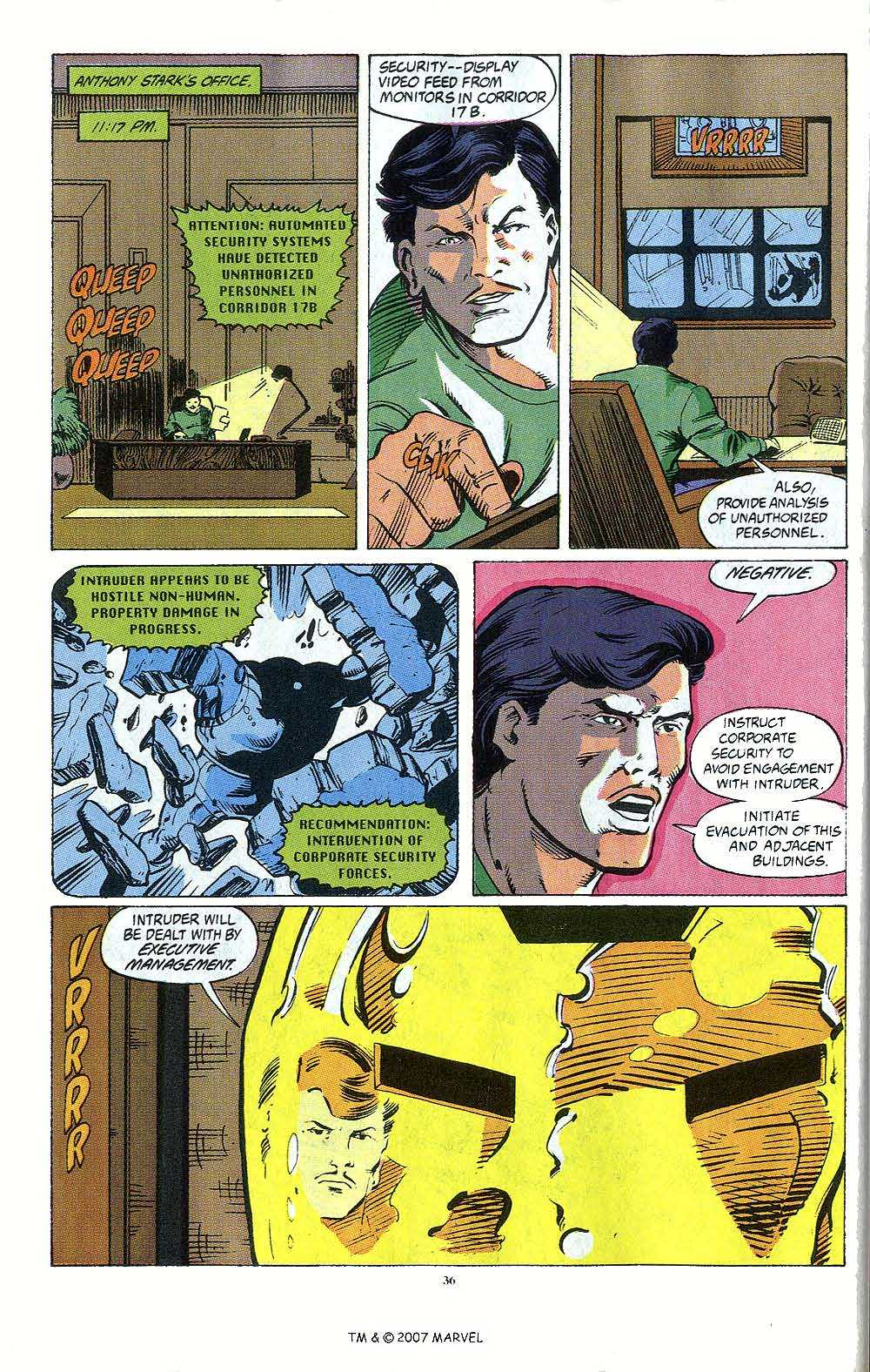 Iron Man Annual issue 12 - Page 38