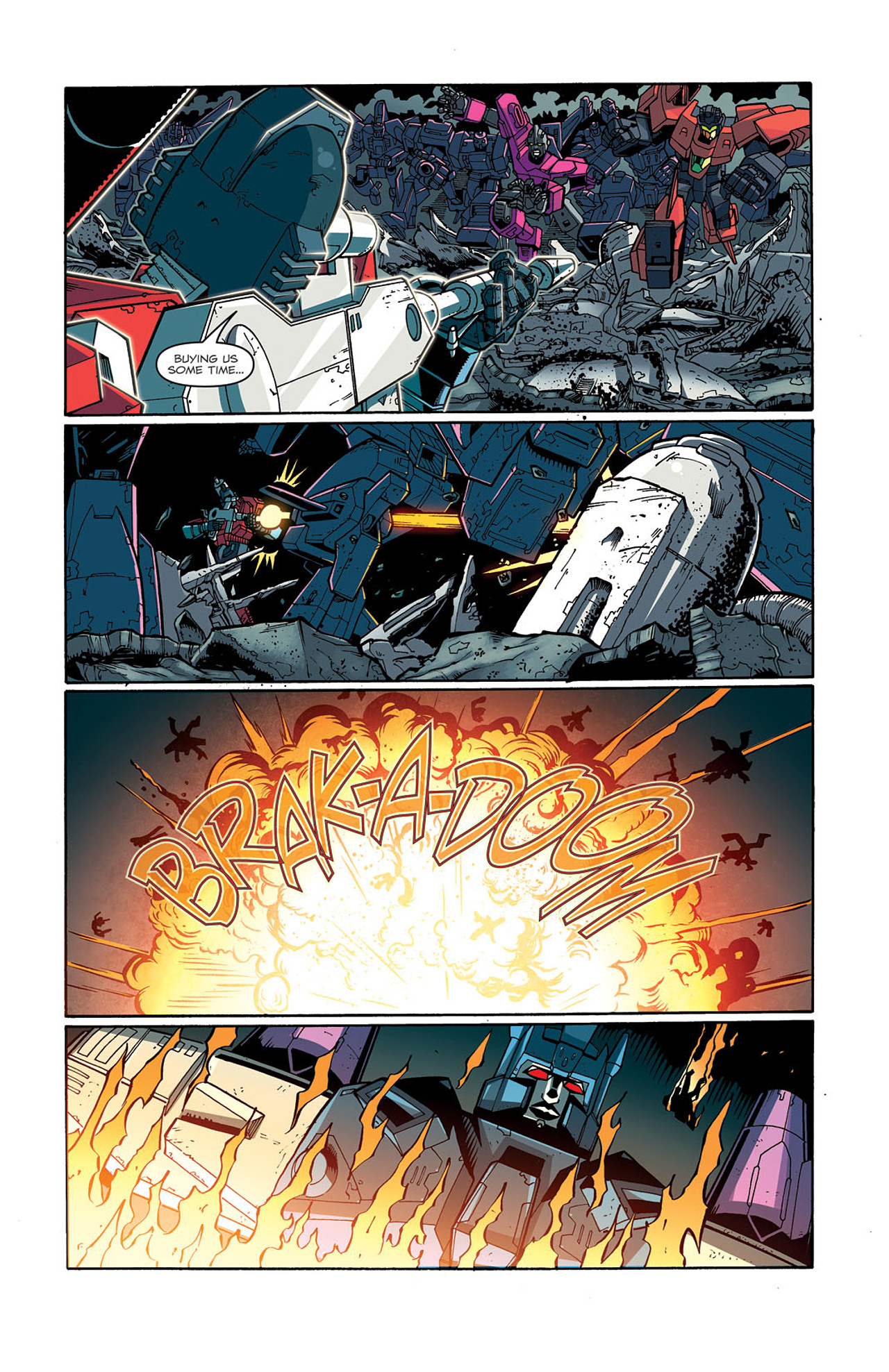 Read online Transformers: Last Stand of The Wreckers comic -  Issue #3 - 19