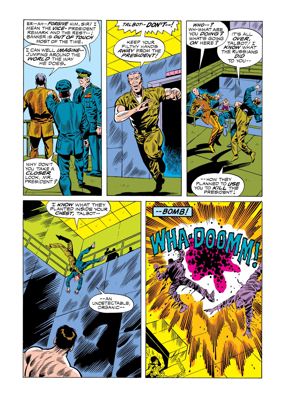 Read online Marvel Masterworks: The Incredible Hulk comic -  Issue # TPB 11 (Part 1) - 35
