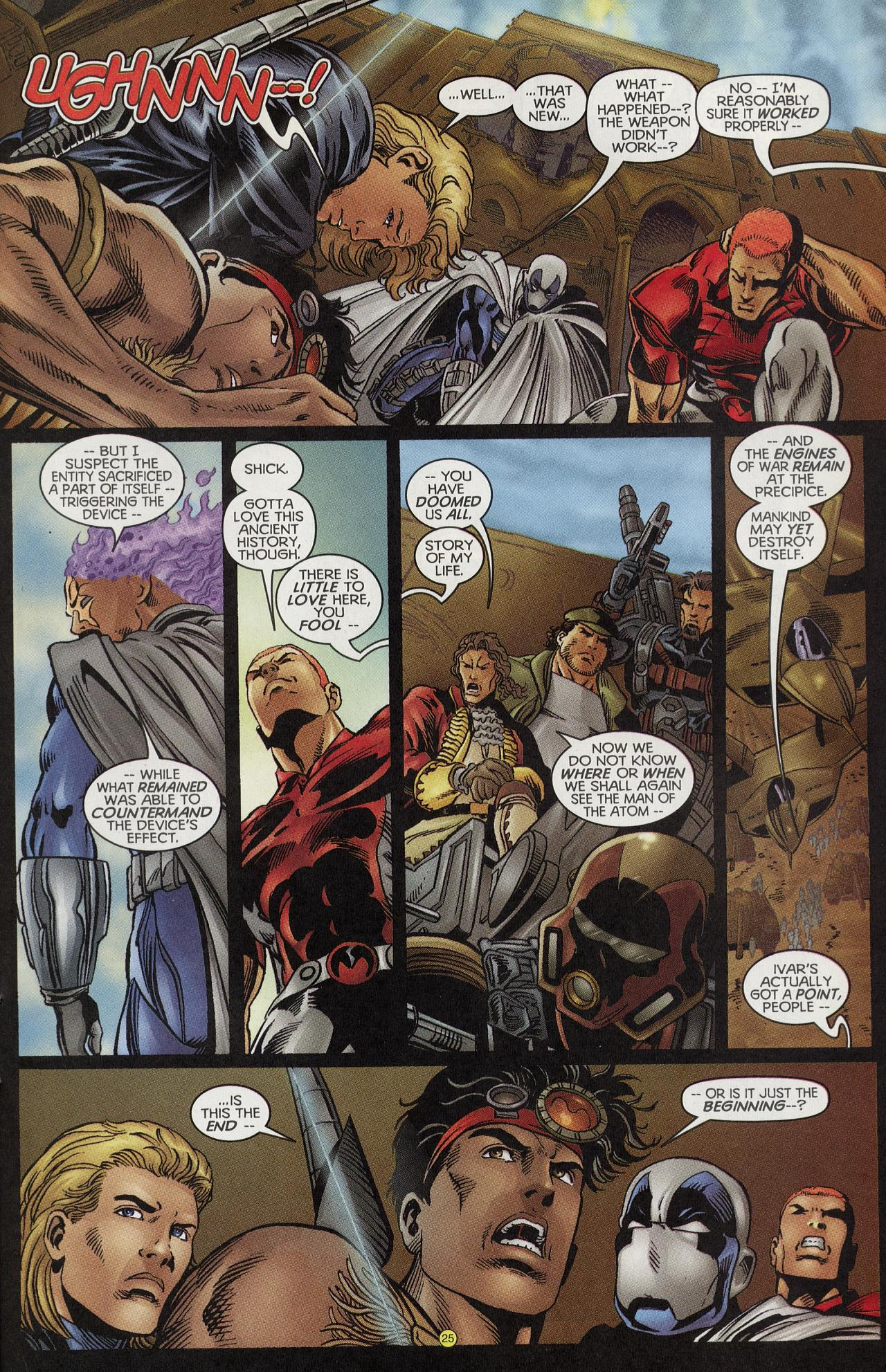 Read online Solar, Man of the Atom: Hell on Earth comic -  Issue #4 - 25