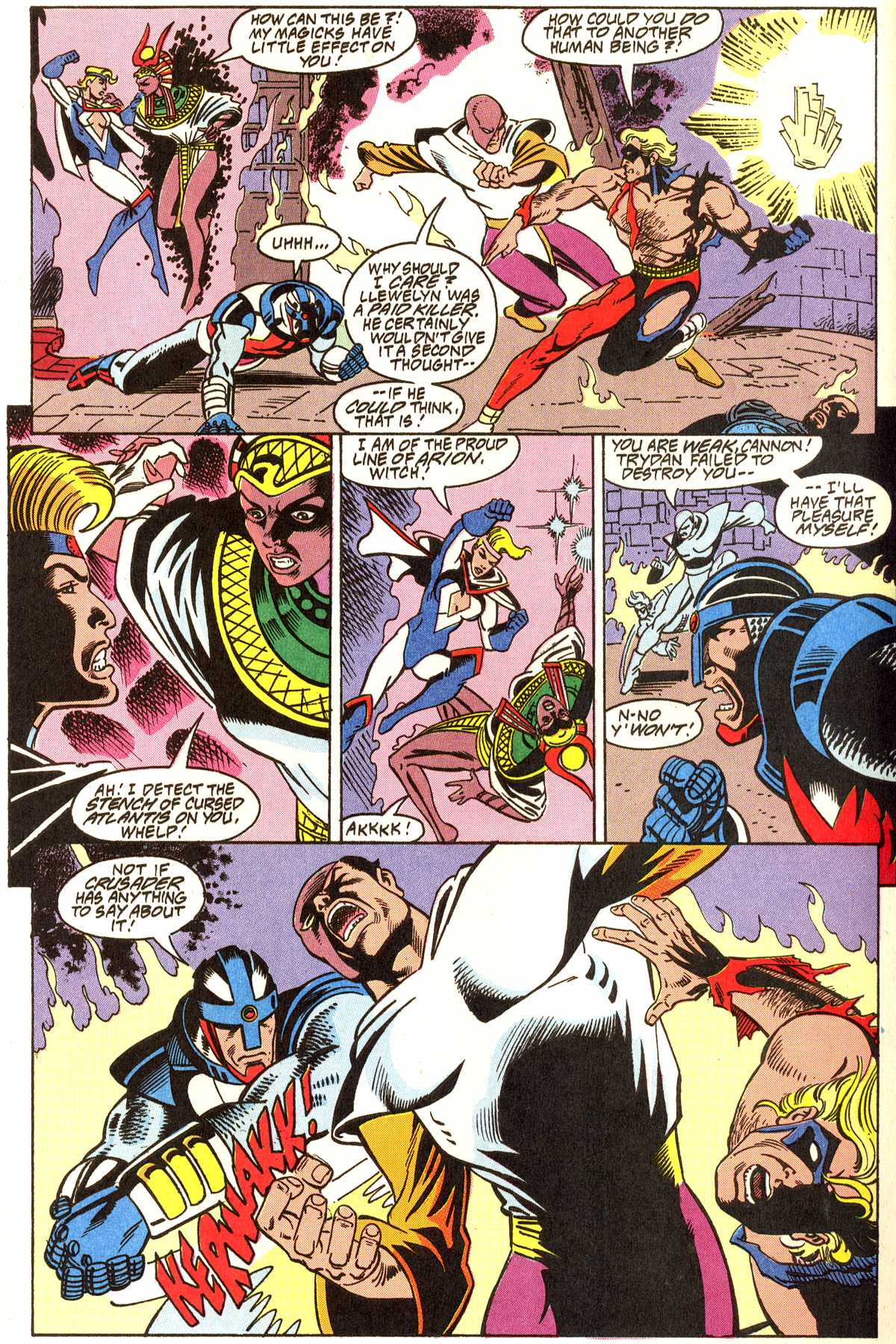 Read online Peter Cannon--Thunderbolt (1992) comic -  Issue #11 - 14