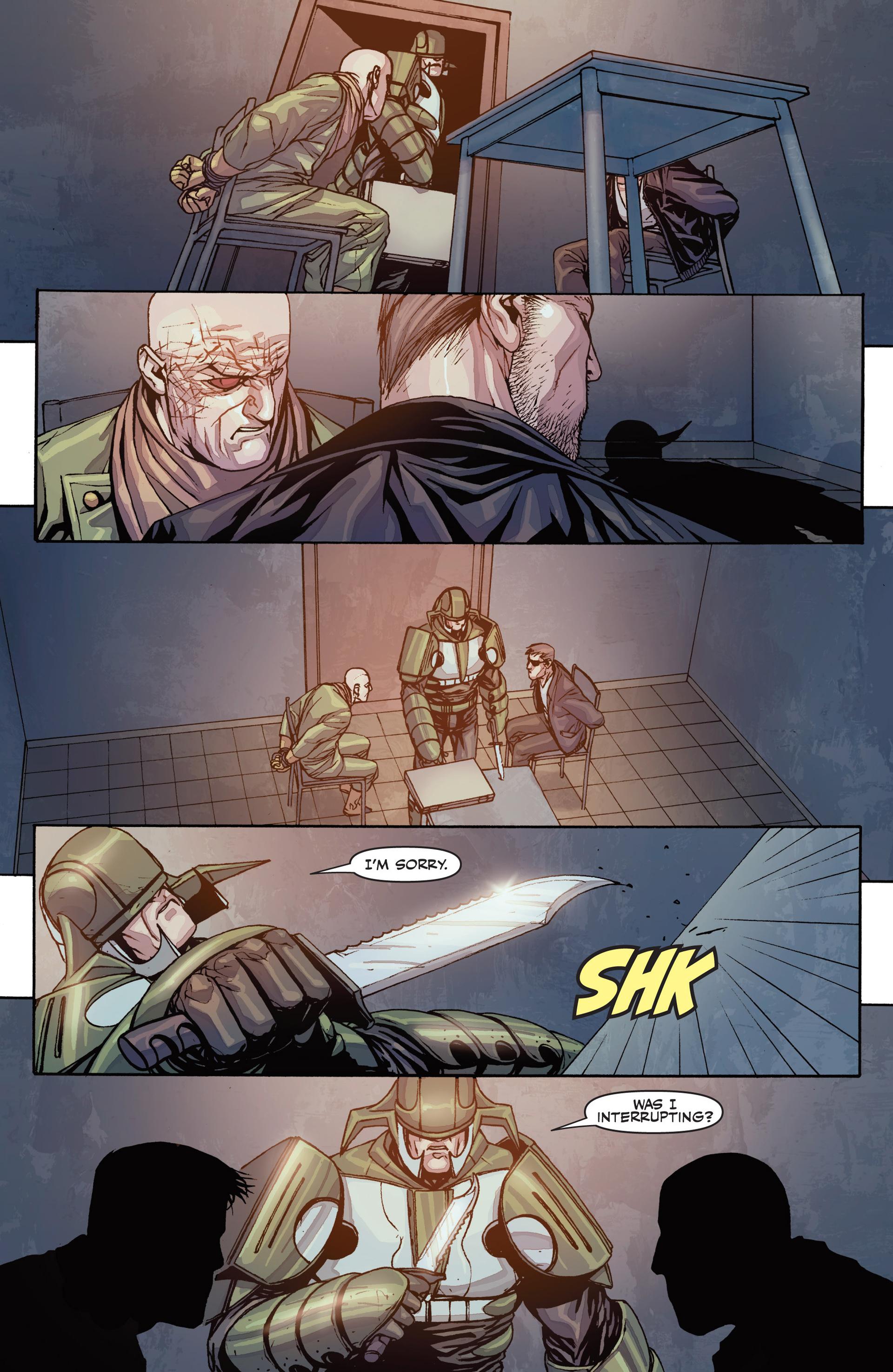 Read online Secret Warriors comic -  Issue #26 - 10