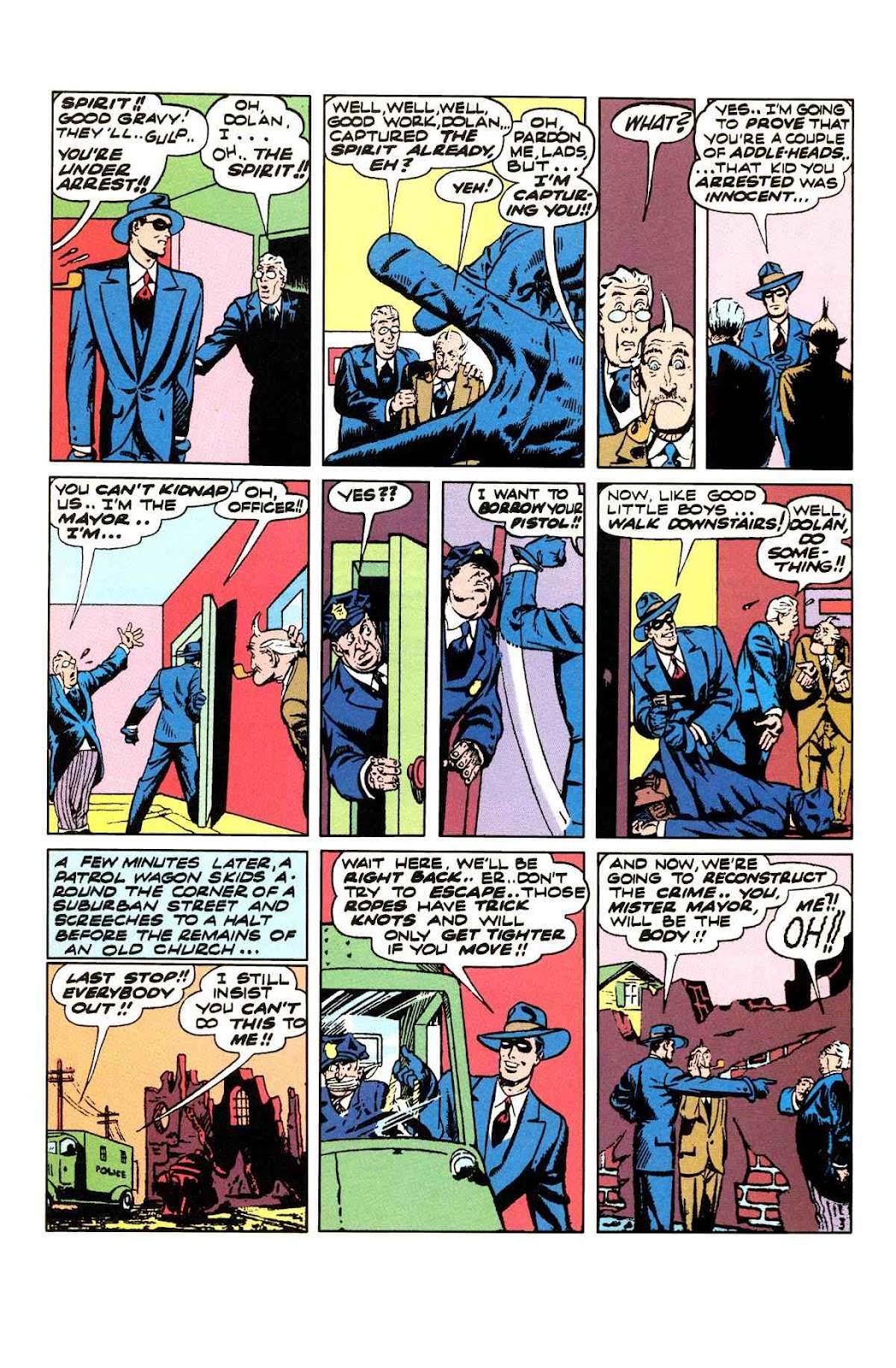 Read online Will Eisner's The Spirit Archives comic -  Issue # TPB 3 (Part 1) - 36