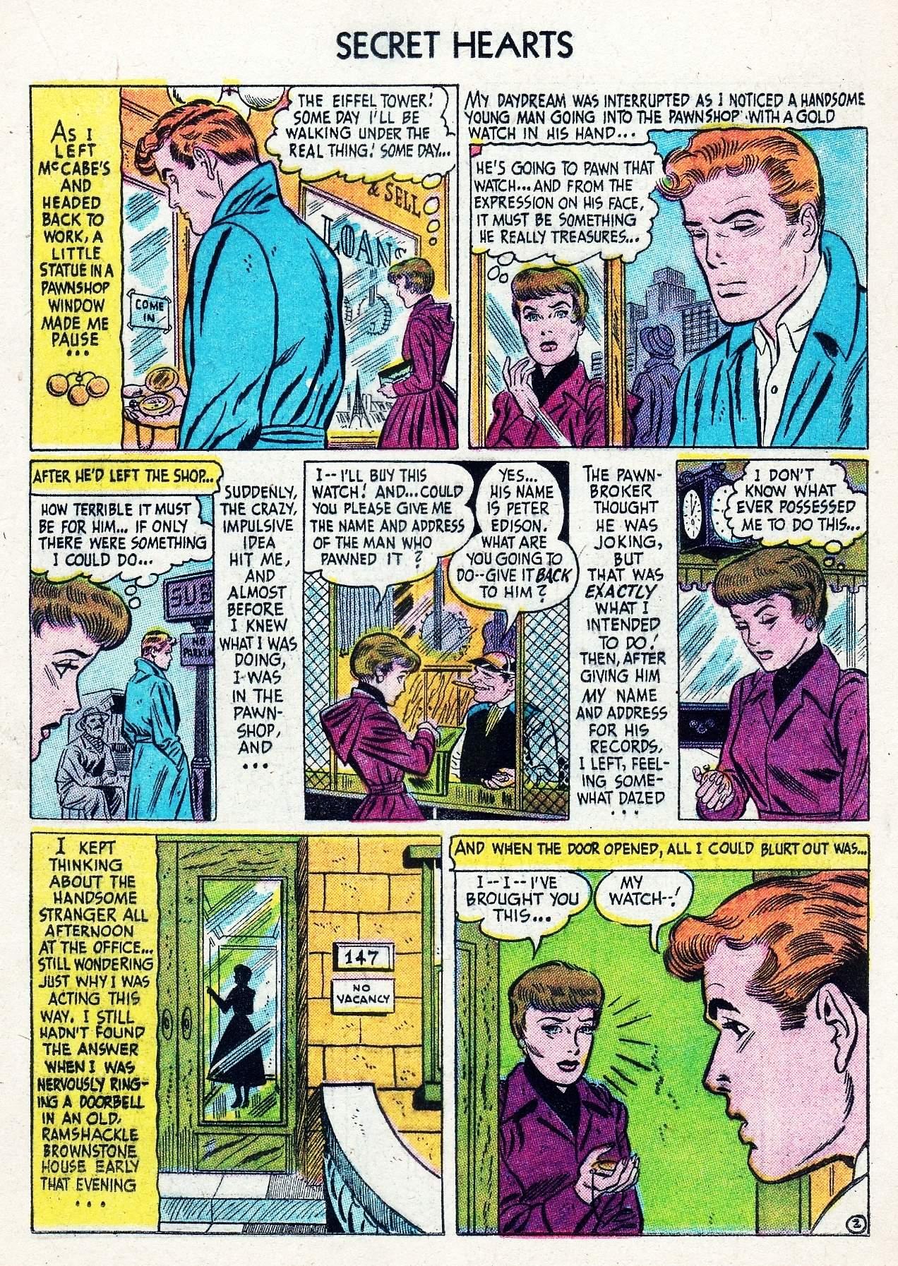 Read online Secret Hearts comic -  Issue #29 - 19